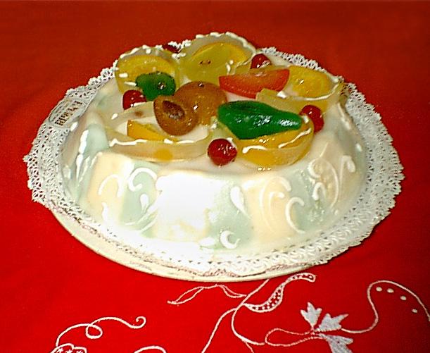 Tutti Frutti Ice Cream Cake