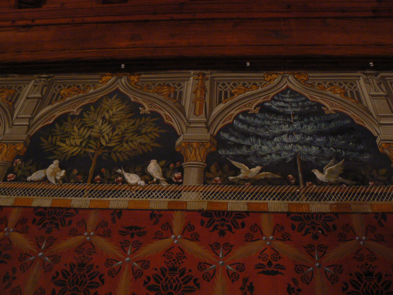 Tappezzeria Trompe L Oeil file:castello di introd dopo restauro torre 11