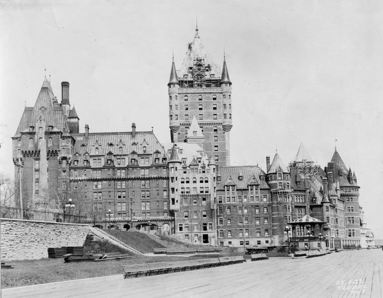 il sacco di Maine Chateau_Frontenac_1923