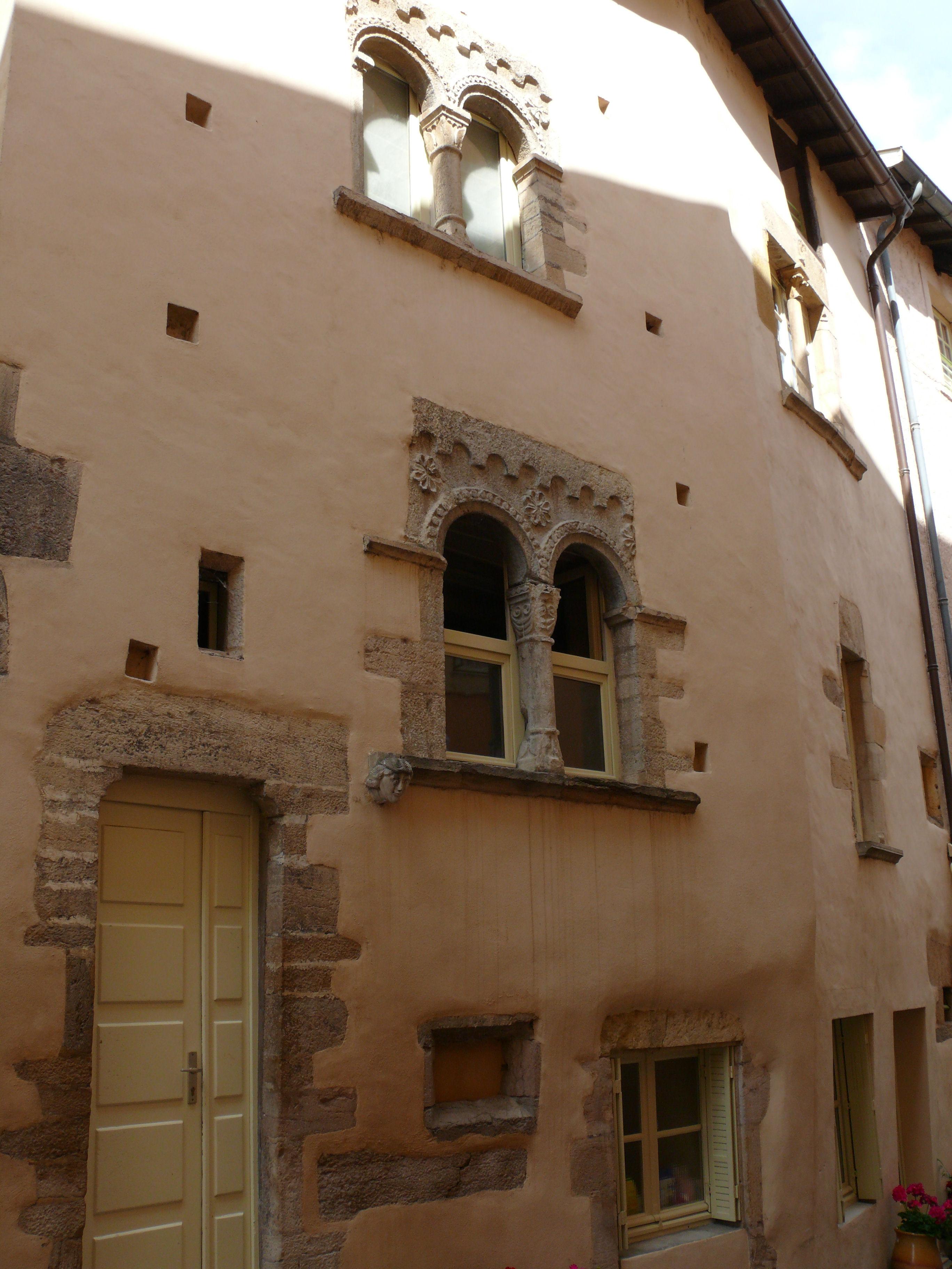 File cluny maison romane 4 petite rue lamartine 453 for Aavi maison du gps