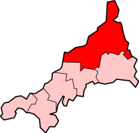 North Cornwall district of Cornwall