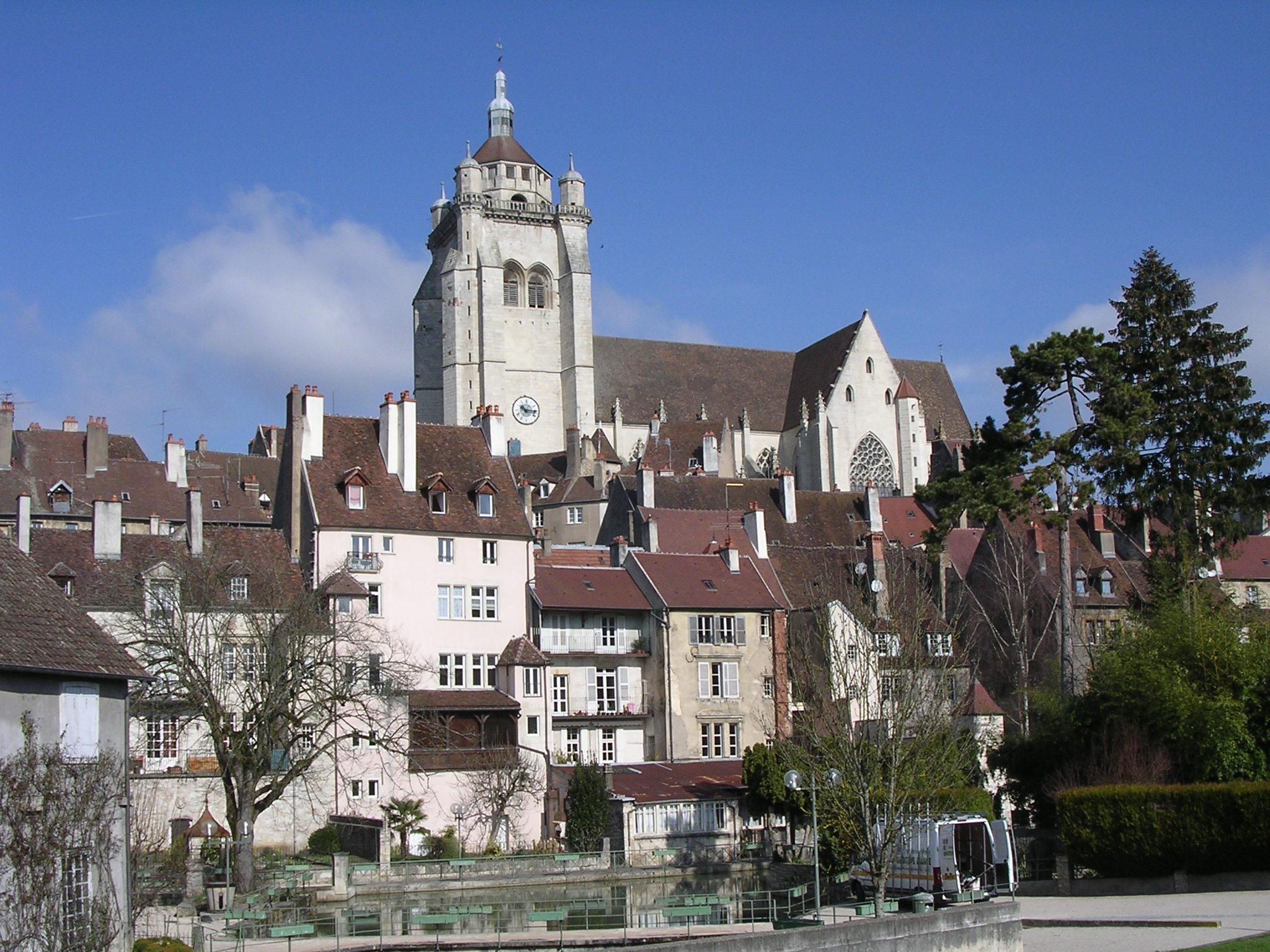 Dole France  city pictures gallery : Fichier:Dole jura la collégiale — Wikipédia