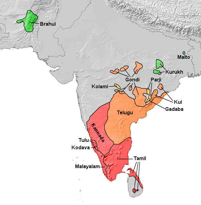 Dravidian Languages Wikipedia