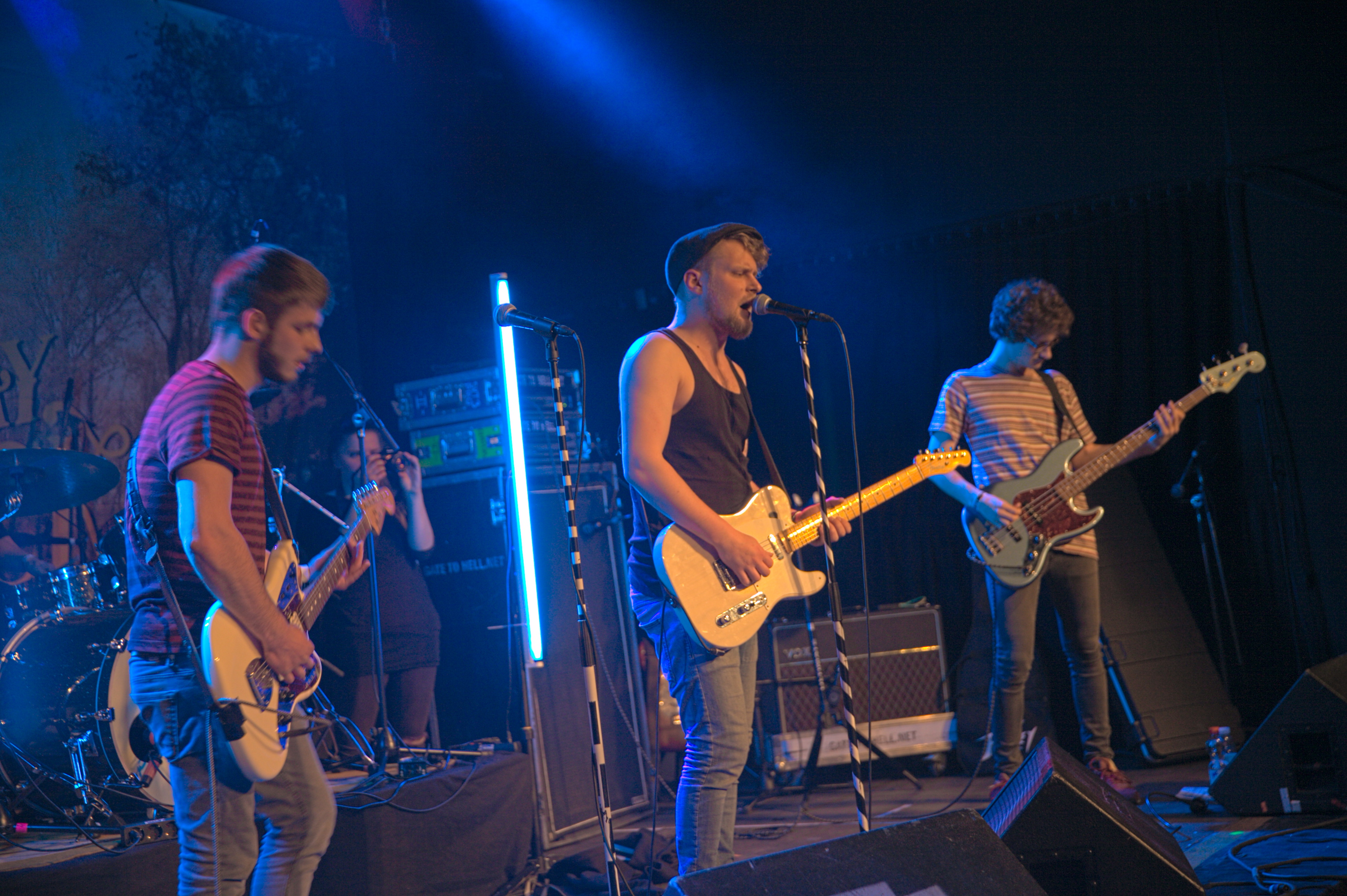 Drens auf dem Way Back When Festival, 2015