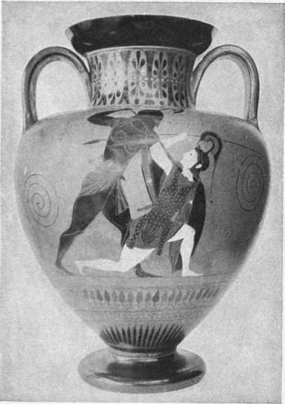 EB1911 Ceramics Fig. 54.—BLACK-FIGURED AMPHORA BY EXEKIAS.jpg