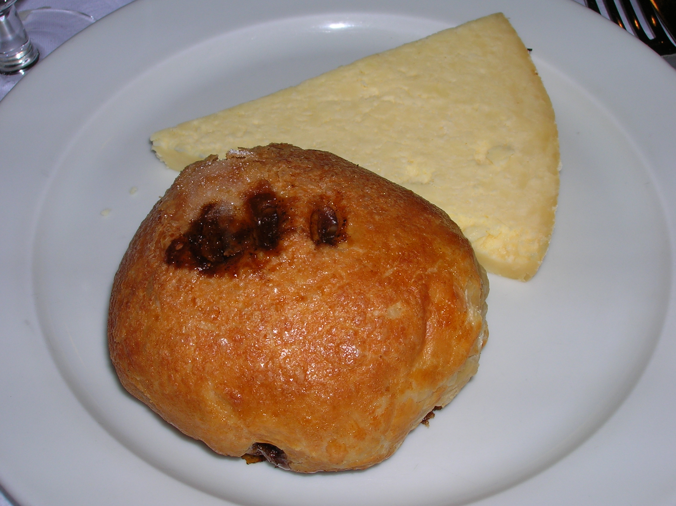 File Eccles Cake And Lancashire Cheese St John Restaurant London Jpg Wikimedia Commons