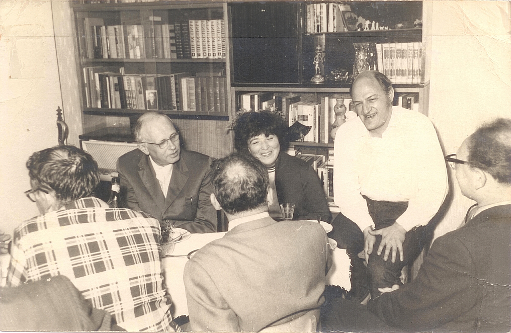 edward n. trifonov, refuseniks and andrei sakharov.jpg