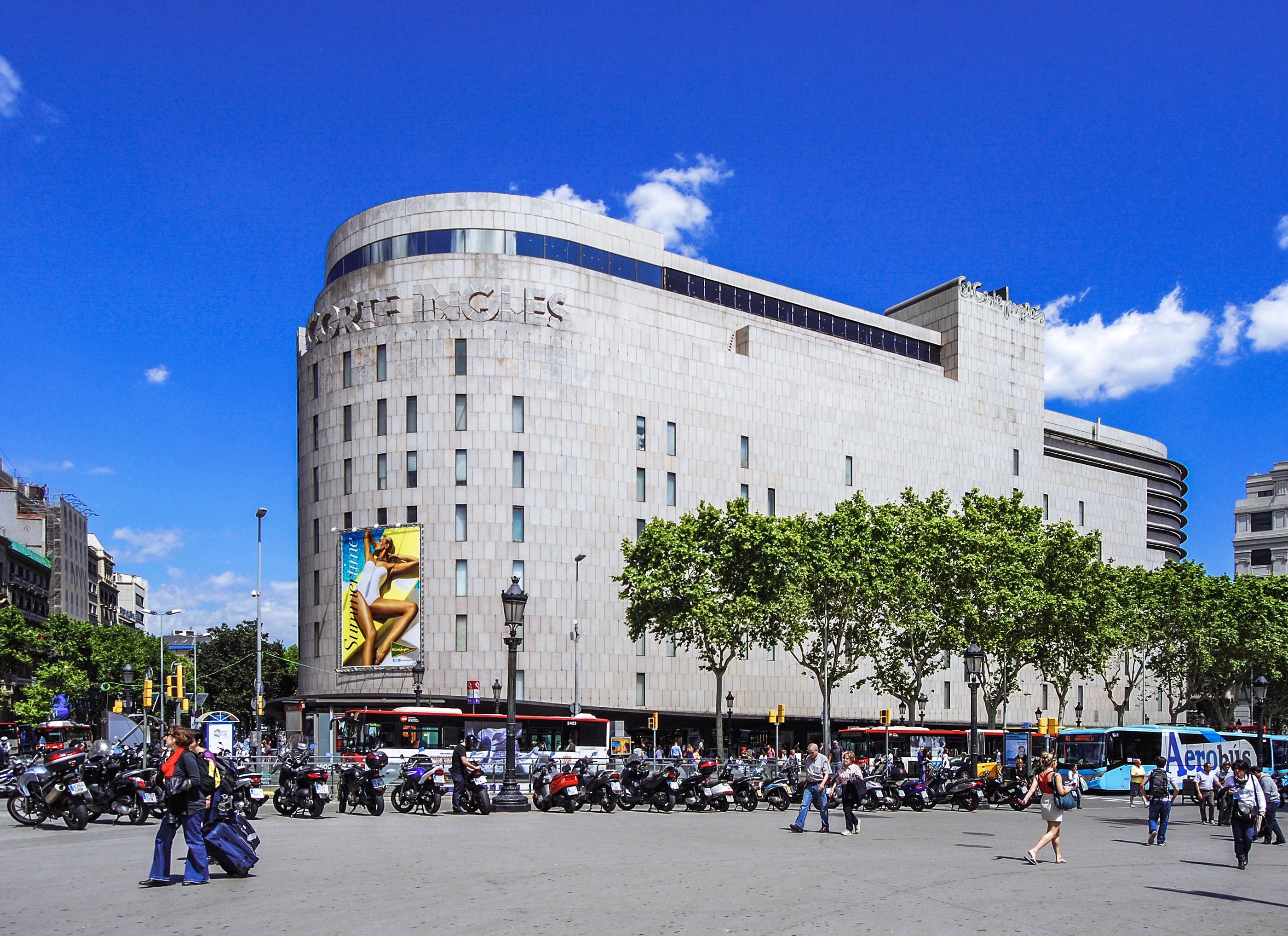 File el corte ingl s barcelona pla a de catalunya - El corte ingles plaza cataluna barcelona ...