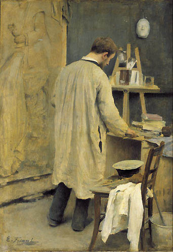 File emile friant interieur d 39 atelier wikimedia for Interieur french