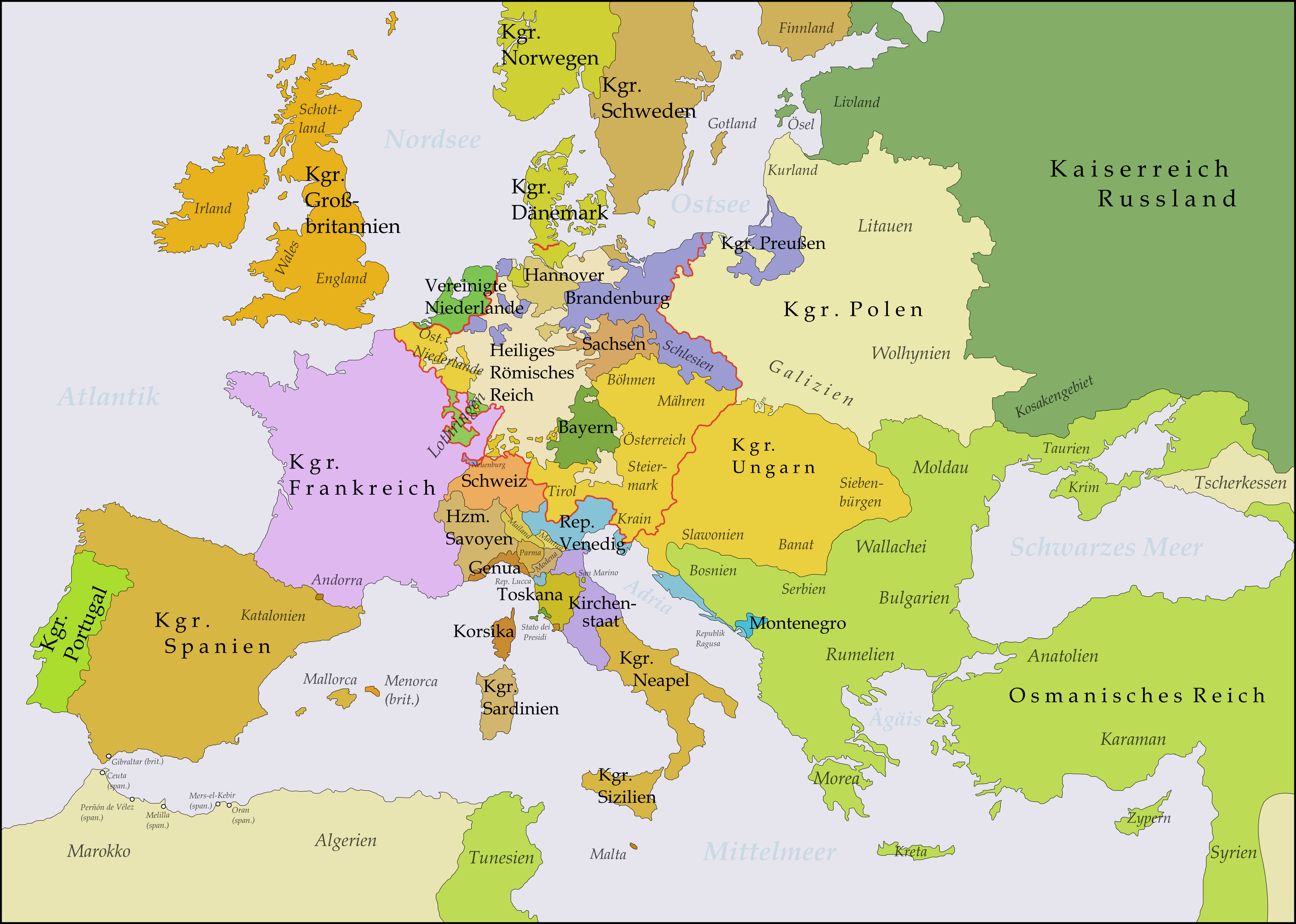 political map of europe 1919 MEMES