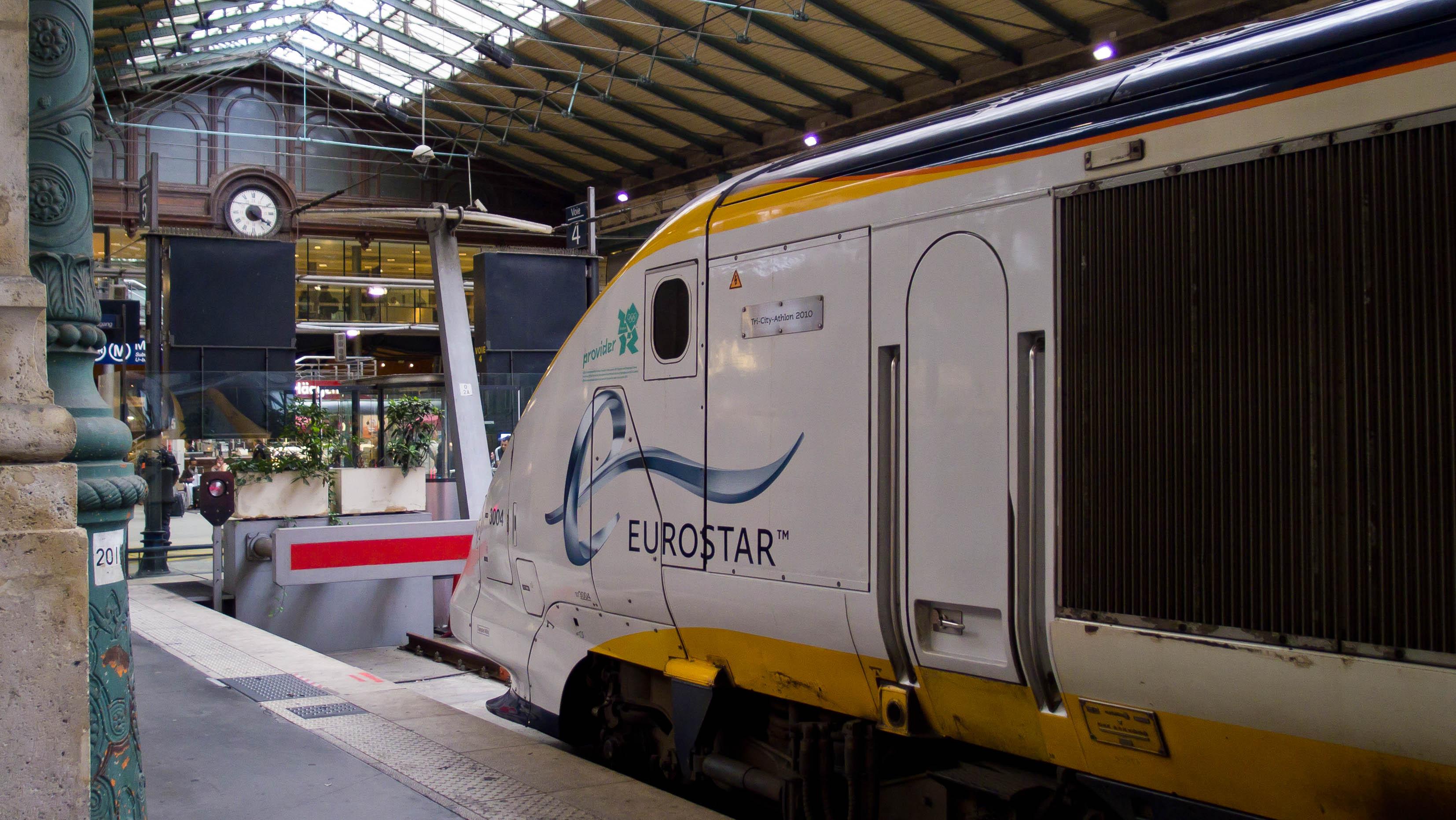 Gare du nord eurostar for Gare du nord paris