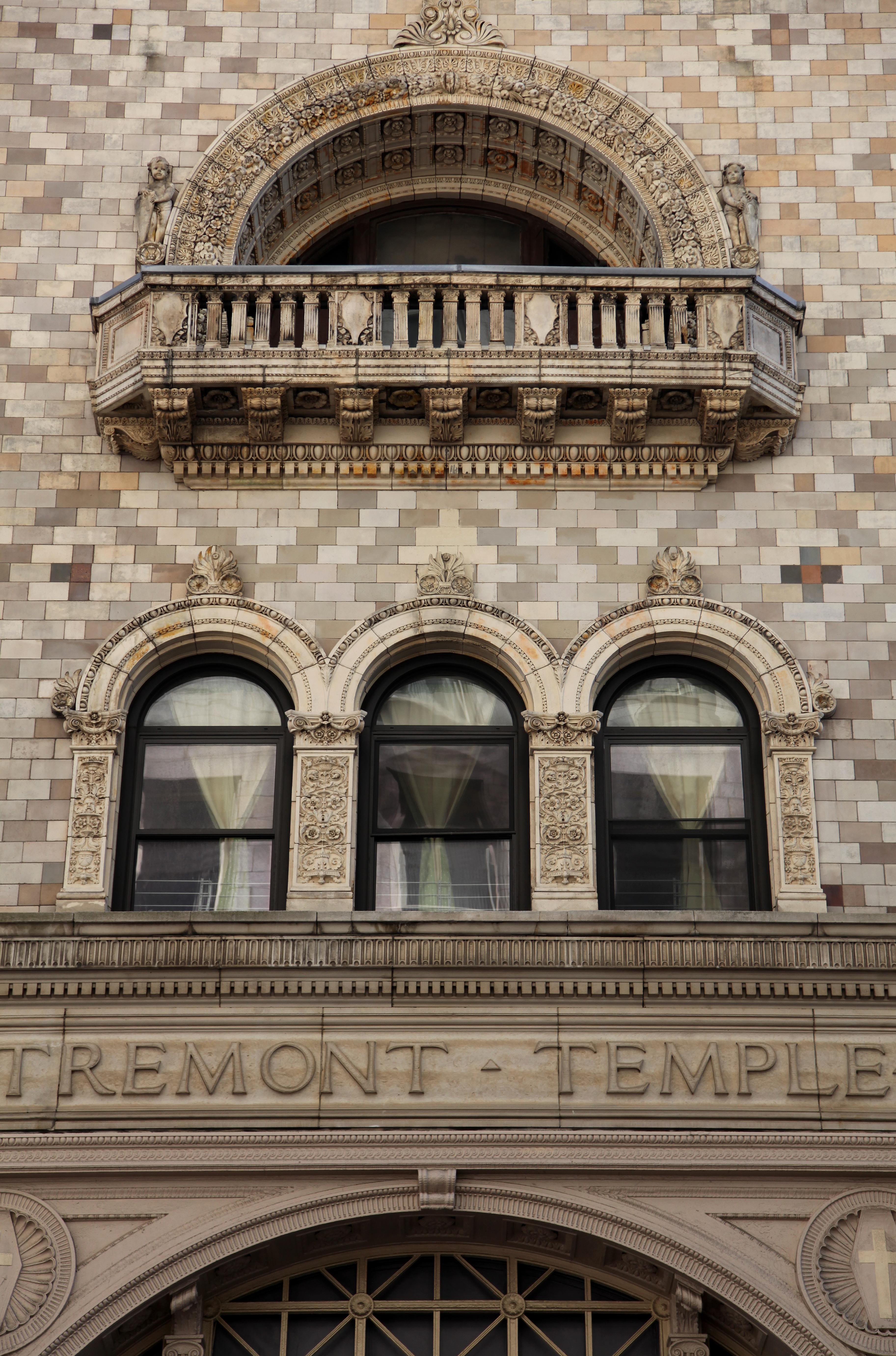 File:Facade of Tremont Temple Baptist church in Boston