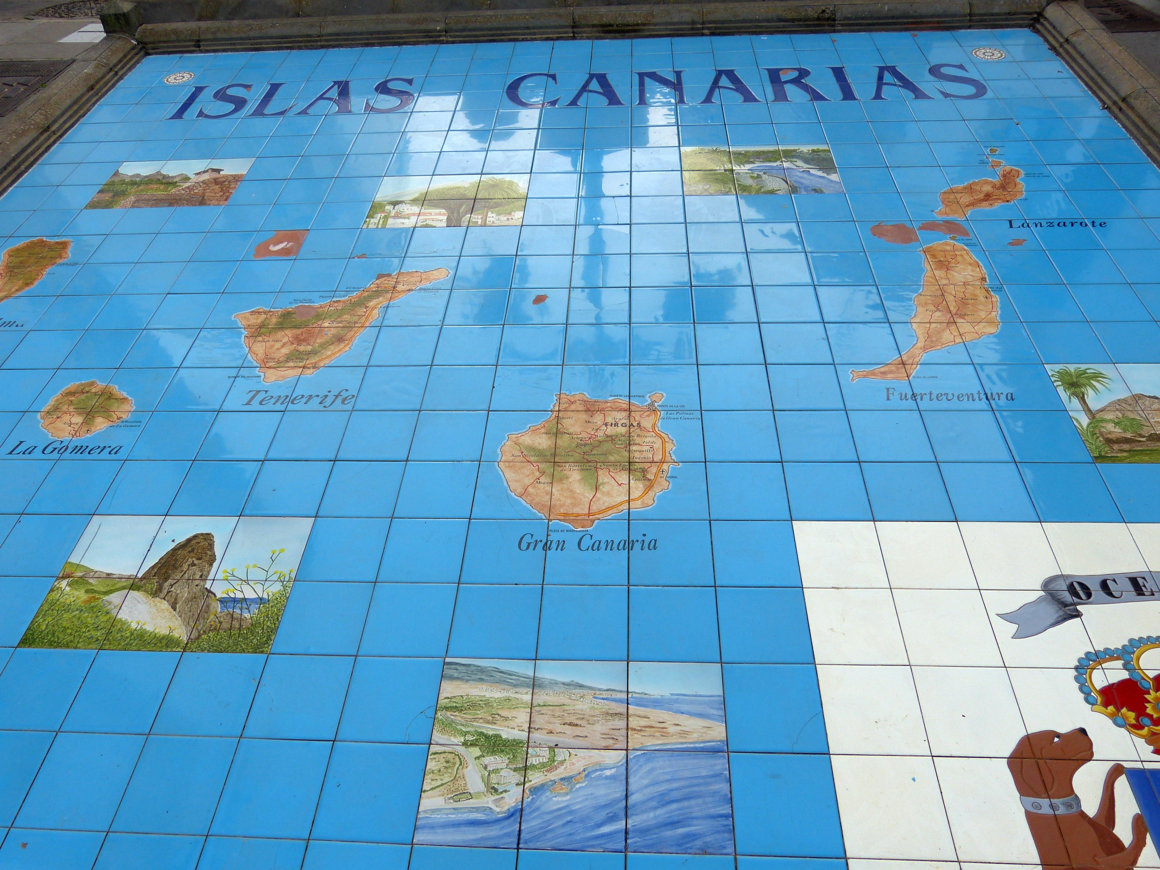 File Firgas Paseo De Gran Canaria Kanarische Inseln Karte Jpg