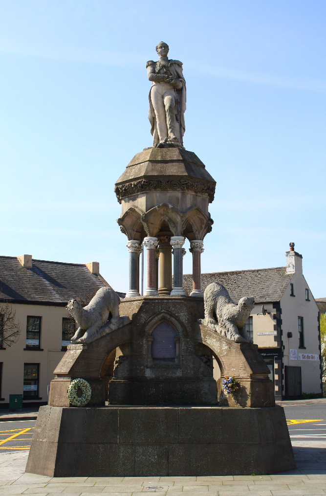 File francis crozier monument in banbridge county down for Facts about the monument