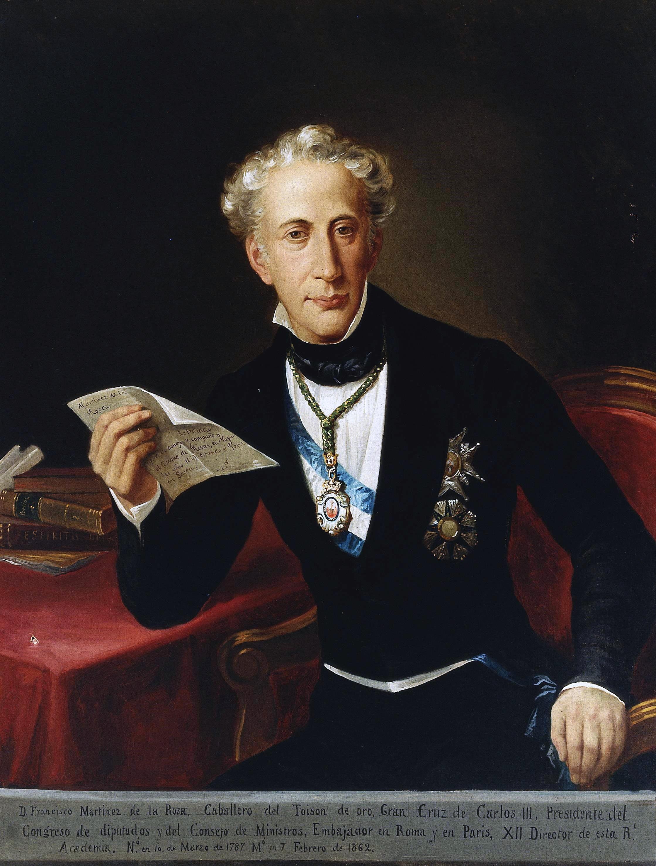 Francisco Martínez De La Rosa Wikipedia