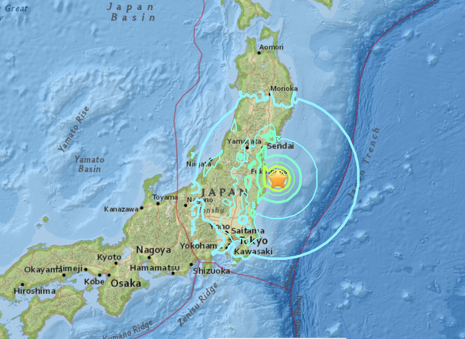 県 地震 福島 沖 福島県沖地震 (2021年)