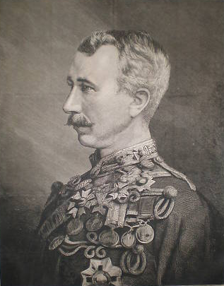 Original title:    Description English: Major General Sir Garnet Joseph Wolseley KCMG CB, engraving from Illustrated London News, 1874, portrait of (1833–1913) Date 1874(1874) Source engraving Author unsigned Permission (Reusing this file) Public domainPublic domainfalsefalse This UK artistic work, of which the author is unknown and cannot be ascertained by reasonable enquiry, is in the public domain because it is one of the following: A photograph, which has never previously been made available to the public (e.g. by publication or display at an exhibition) and which was taken before 1st January 1942; or A photograph, which was made available to the public (e.g. by publication or display at an exhibition) before 1 January 1942; or An artistic work other than a photograph (e.g. a painting), which was made available to the public (e.g. by publication or display at an exhibition) before 1 January 19