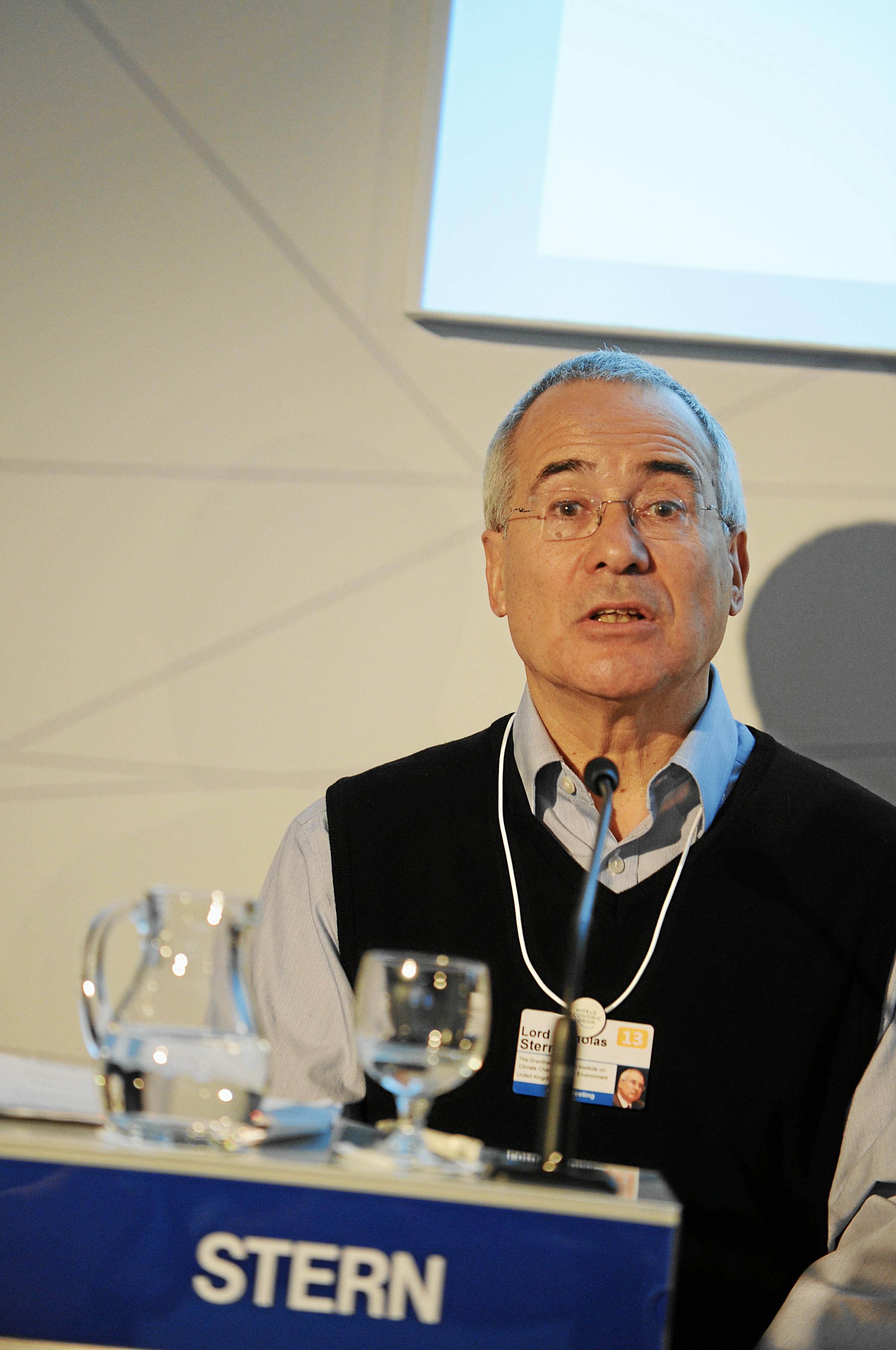Lord Stern at Davos 2013