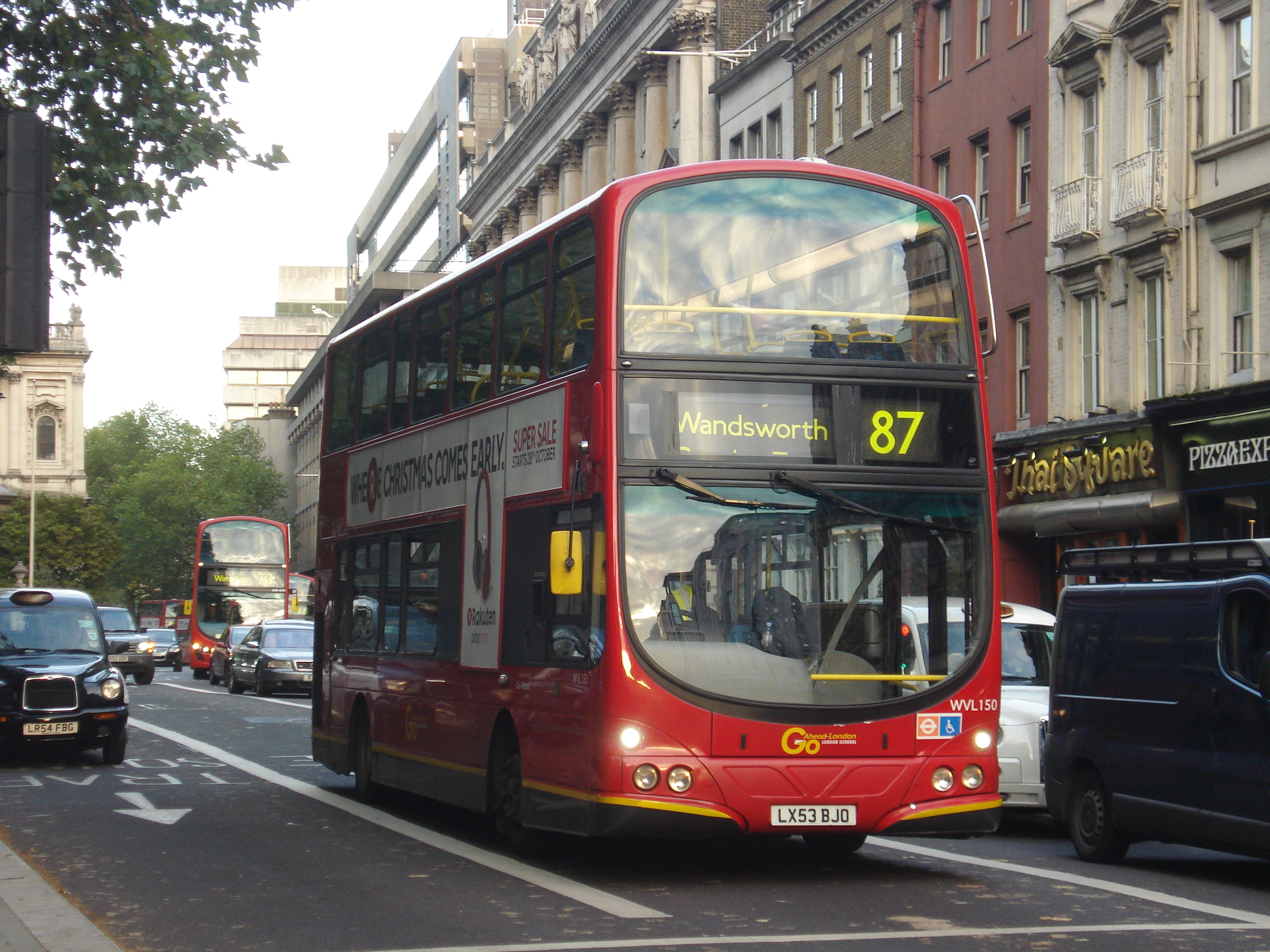 london buses route 87 - wikipedia