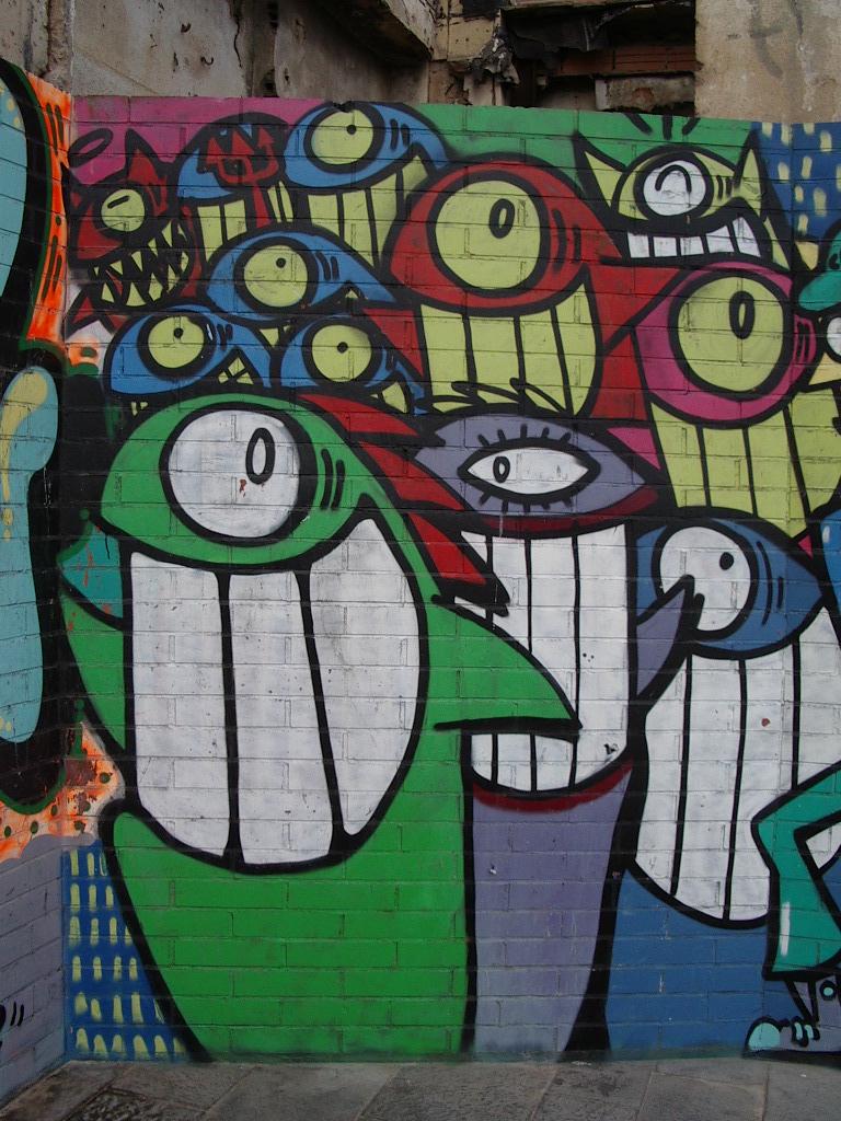 Arte urbano graffitis taringa for Graffitis y murales callejeros