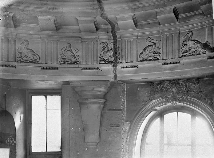 File h tel tubeuf ancien h tel colbert de torcy ancien vue int rieure frise du plafond - Hotel miroir plafond paris ...