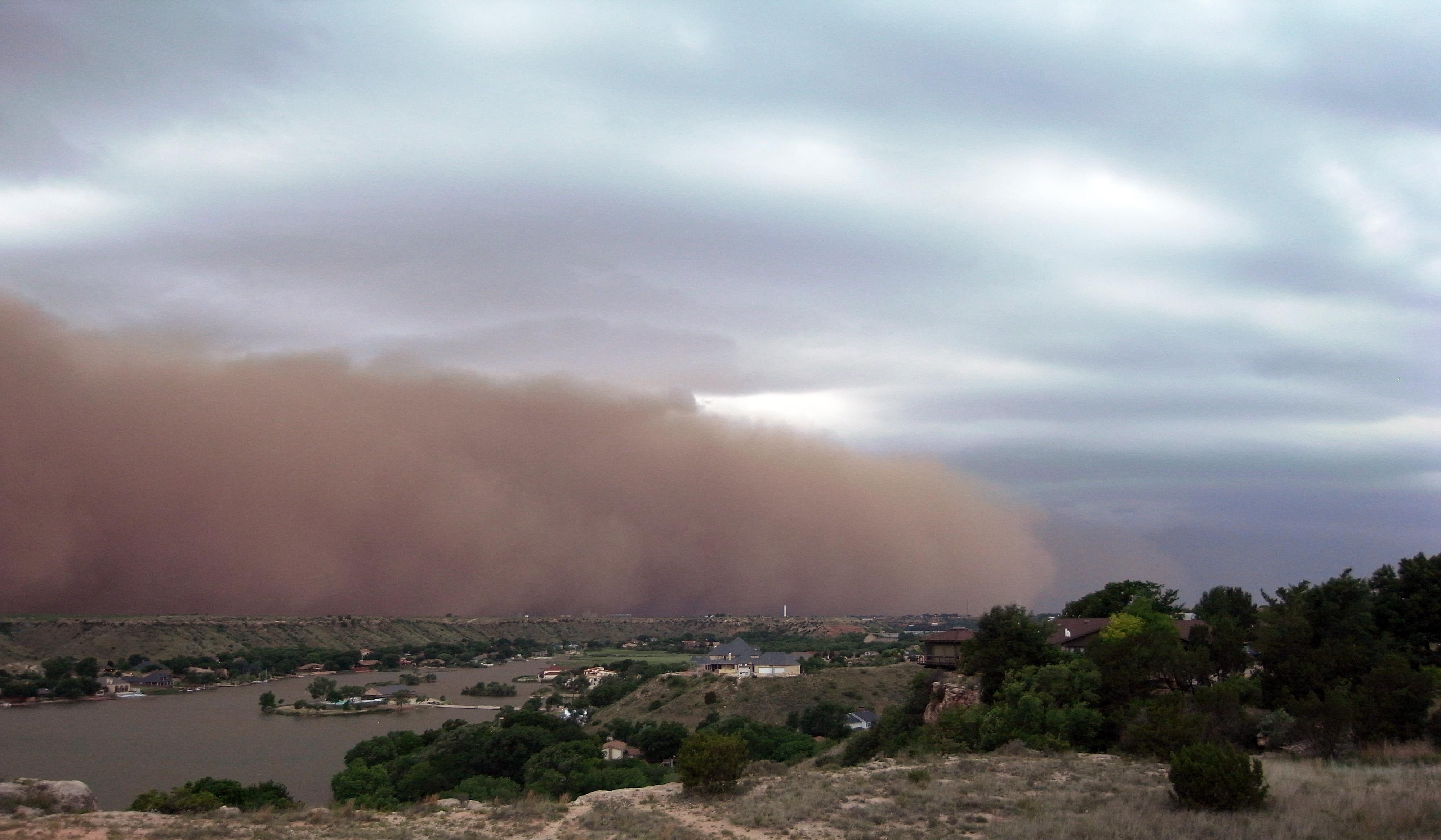 Haboob en Texas, en 2009. Foto: LeafLet, Wikipedia.