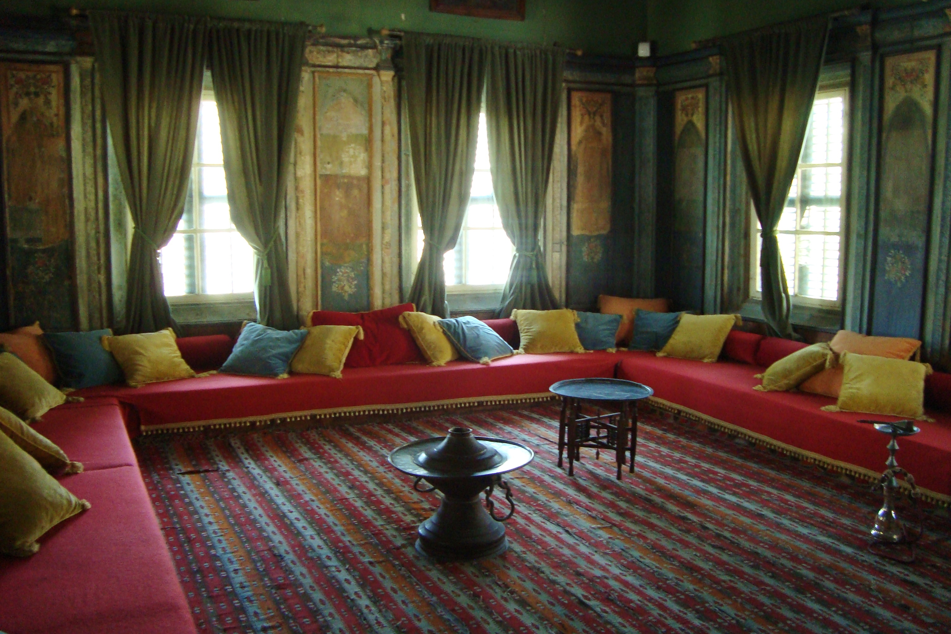 File:Hadjigeorgakis Kornesios Cypriot Mansion Living Room In Nicosia  Republic Of Cyprus