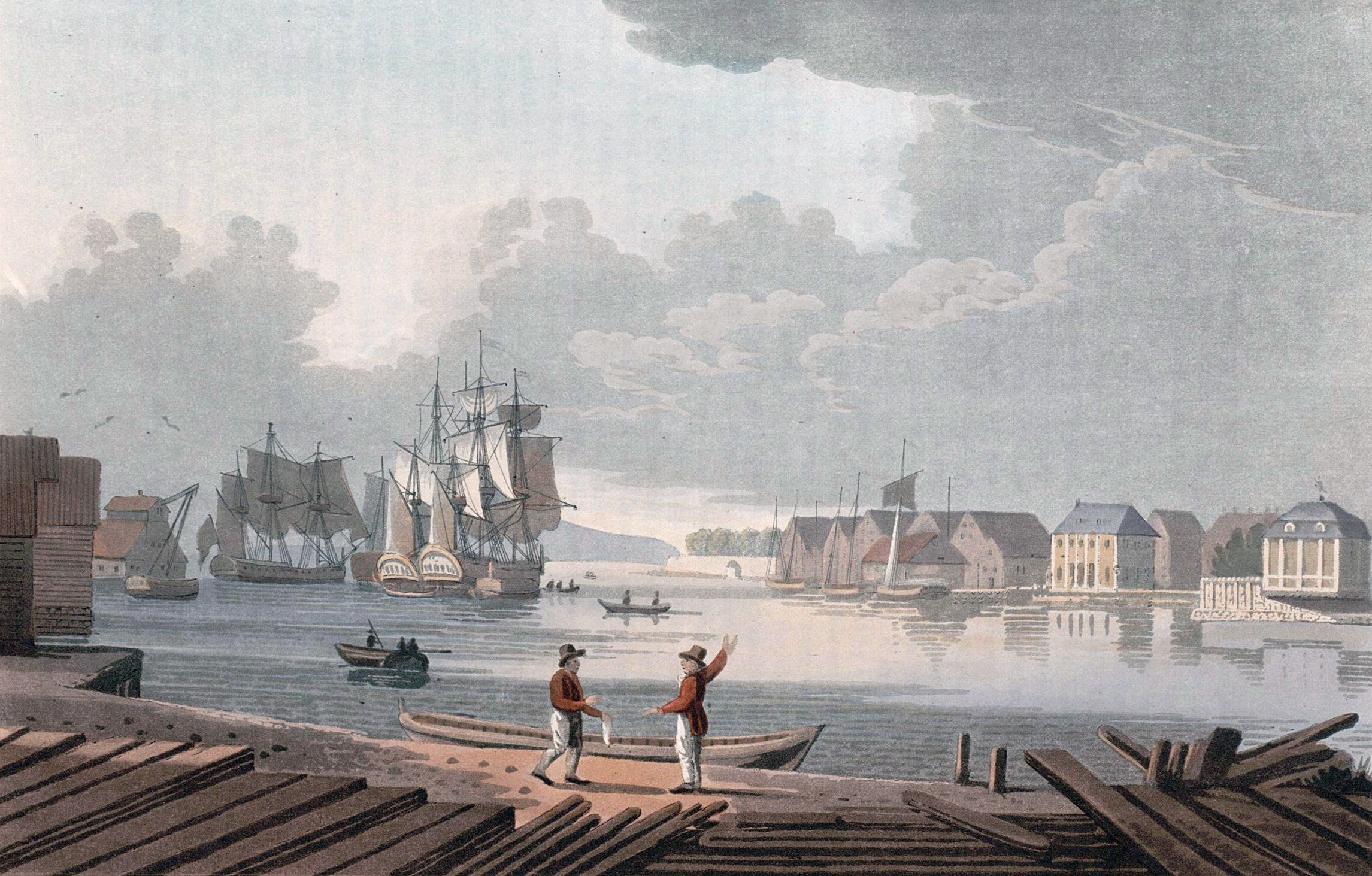 Tập tin:Harbour of Christiania (JW Edy plate 50) jpg – Wikipedia