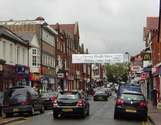 High Street, Camberley - geograph.org.uk - 784675