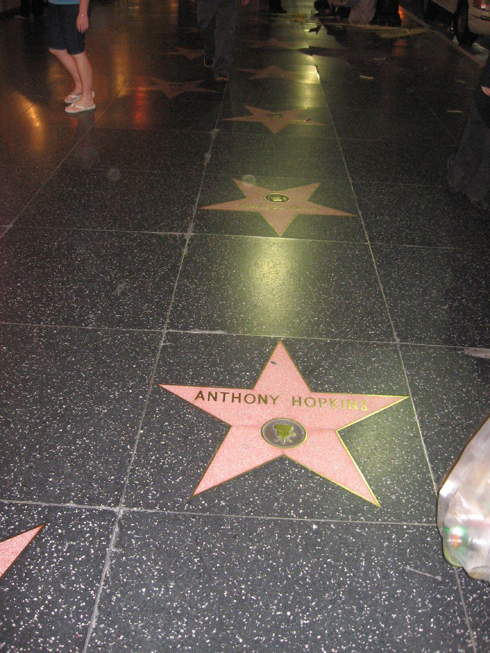 Hollywood Walk of Fame, Hollywood, California