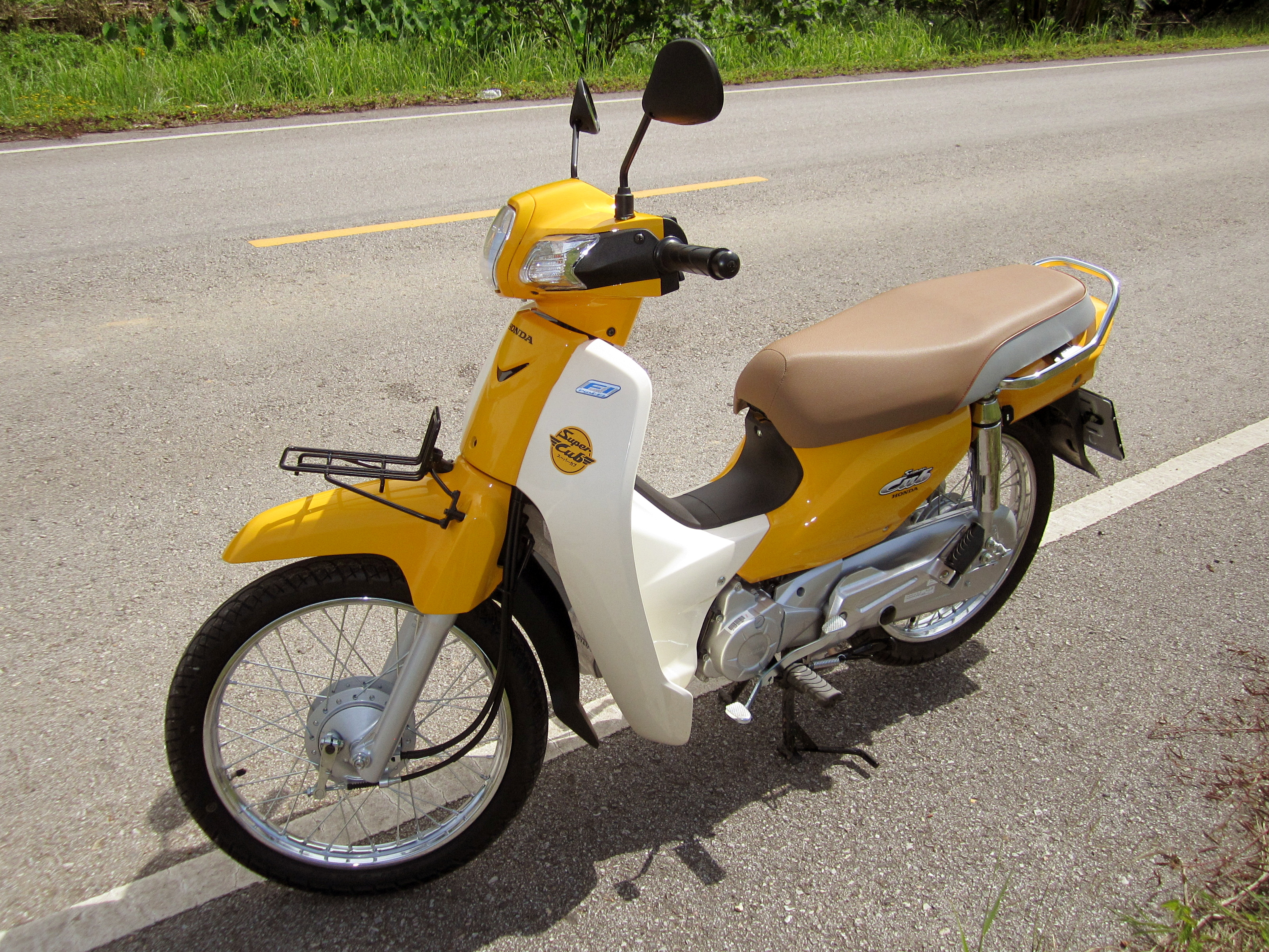 File Honda Dream 110i Super Cub Nd110m 2014 Left Jpg Wikimedia Commons