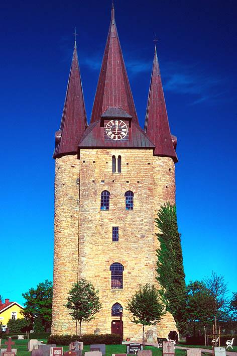 Bild av Husaby kyrka