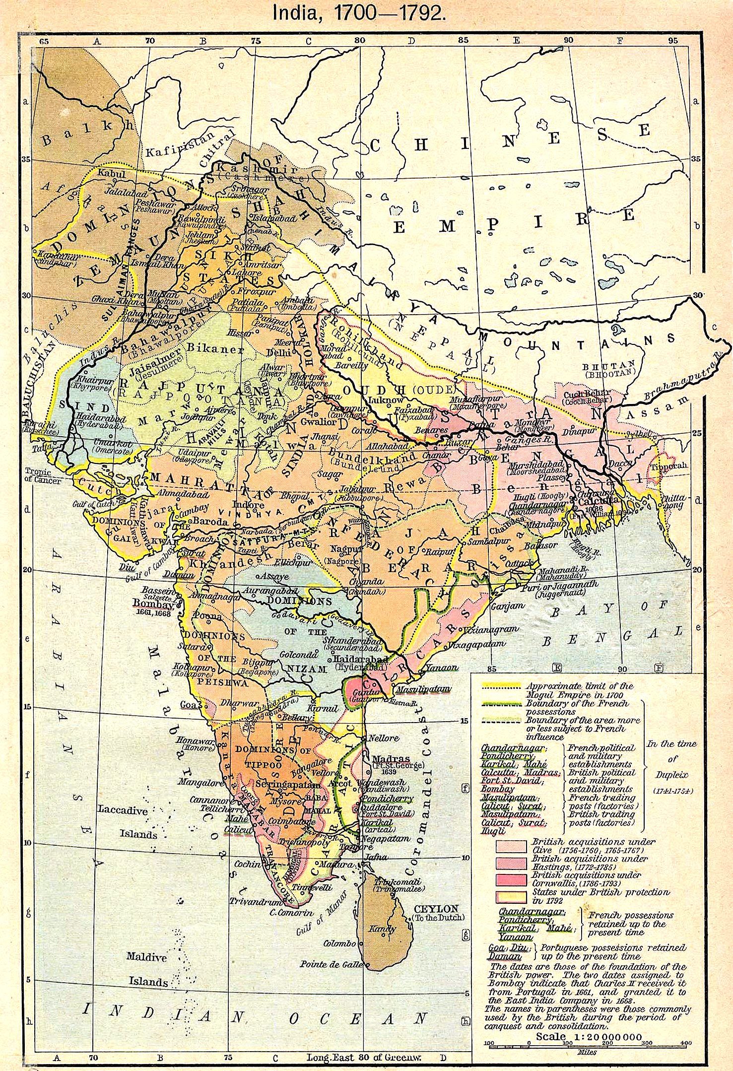 FileIndia map 1700 1792jpg  Wikimedia Commons