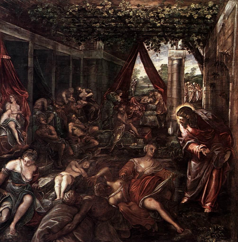 Jacopo Tintoretto: Probatica piscina (1581).