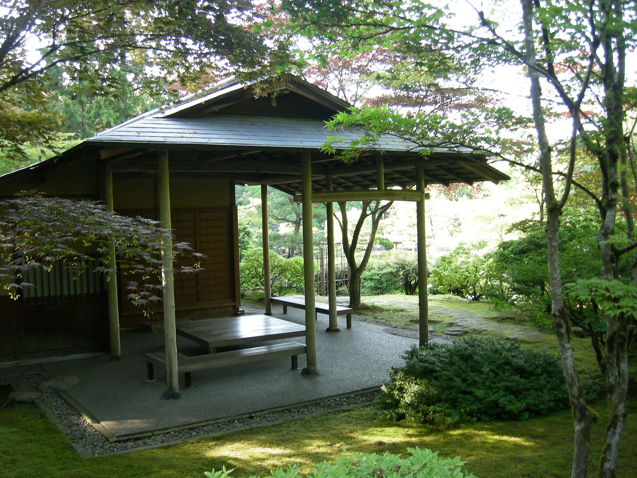 Image gallery japanese tea house garden for Modern japanese tea house design