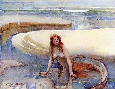 File:John Reinhard Weguelin – The Rainbow Lies in the Curve of the Sand (1901).jpg