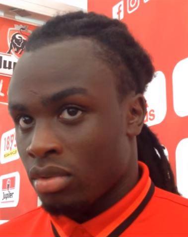 Picture of Romelu Lukaku Brother, called Jordan
