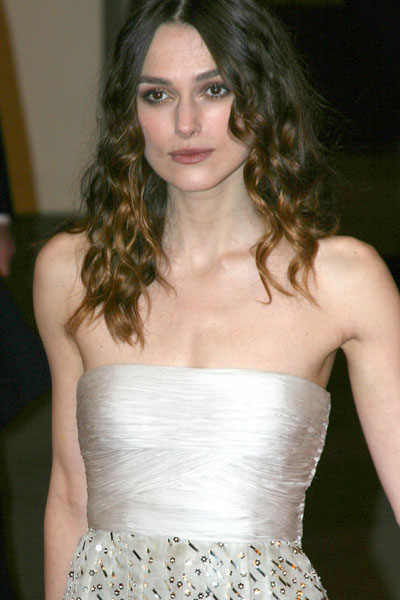 Keira Knightley at BAFTA Film Awards 2008