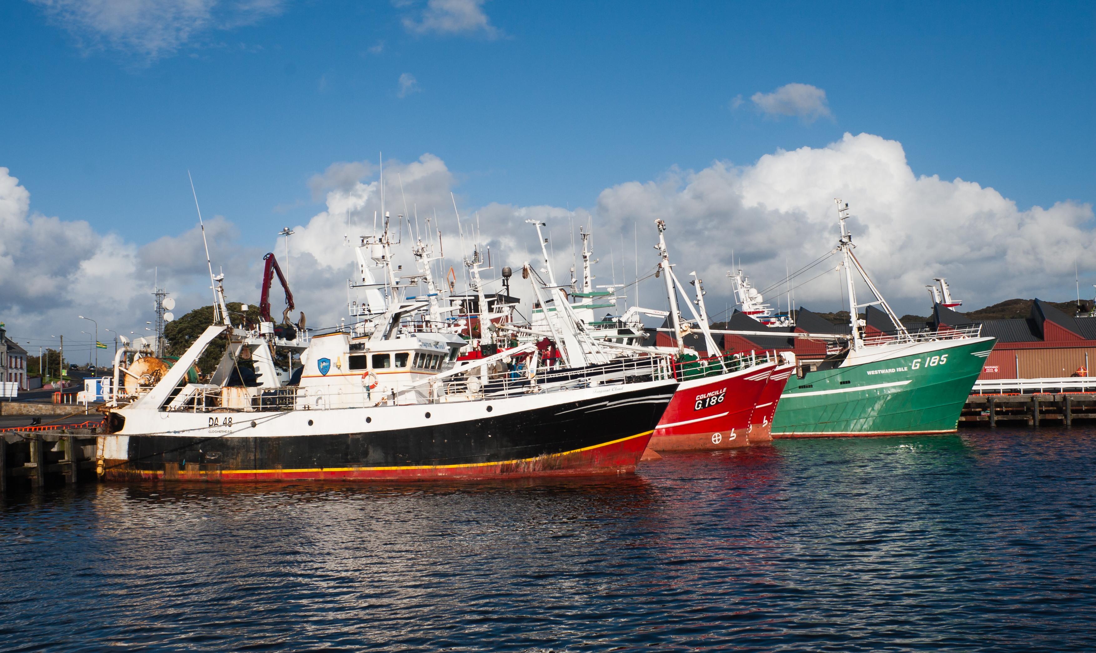File:Killybegs Harbour Fishing Trawlers 2012 09 16.jpg - Wikimedia Commons
