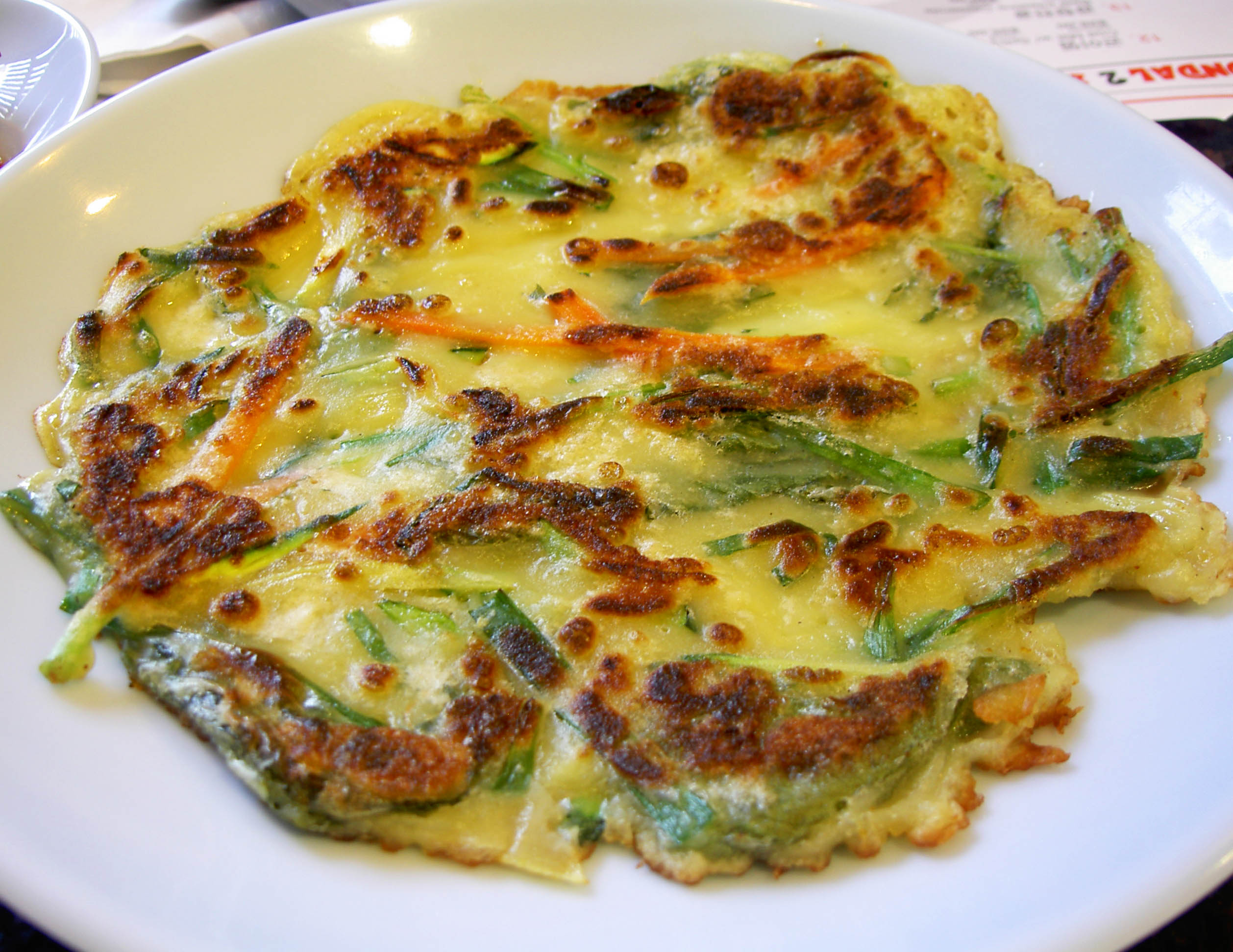 korean green onion i made gluten free pajeon pajeon korean pancake ...
