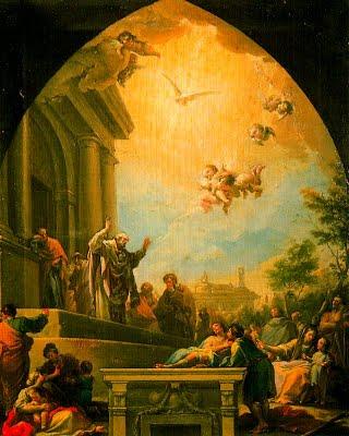 La predicación de San Eugenio.