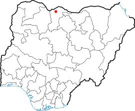 Durbi Takusheyi Archaeological terrain in northern Nigeria