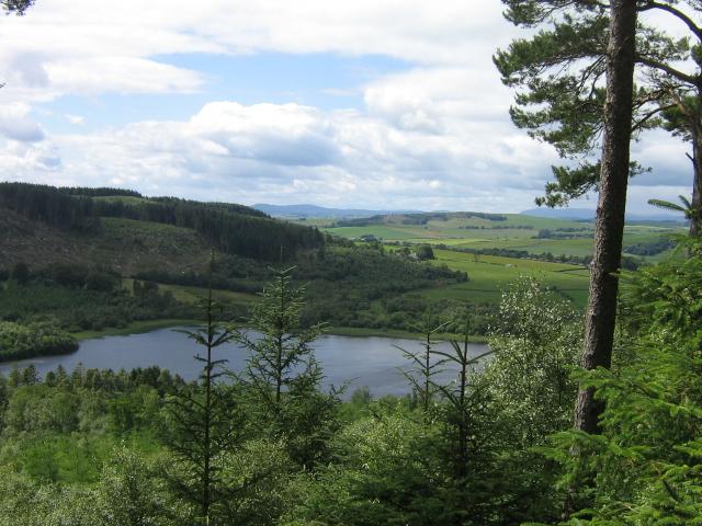 Lochaber Loch , Mabie Forest - geograph.org.uk - 892048