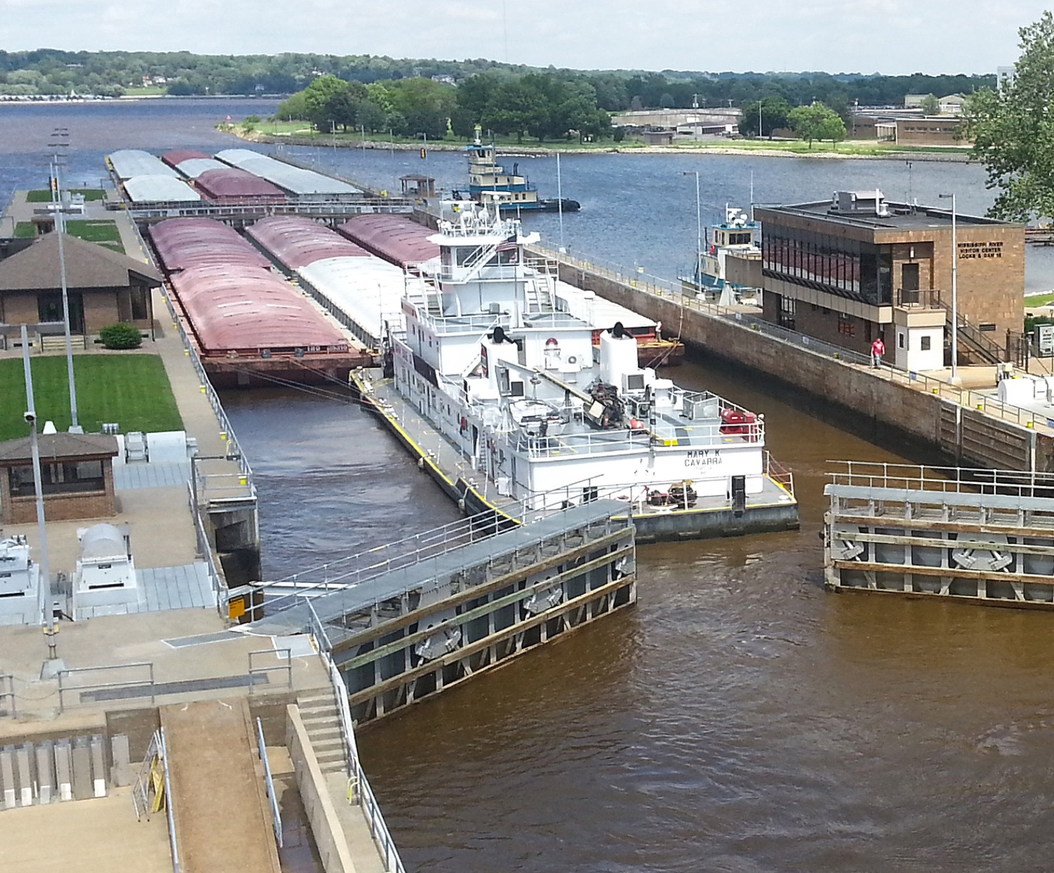 List of locks and dams of the Upper Mississippi River