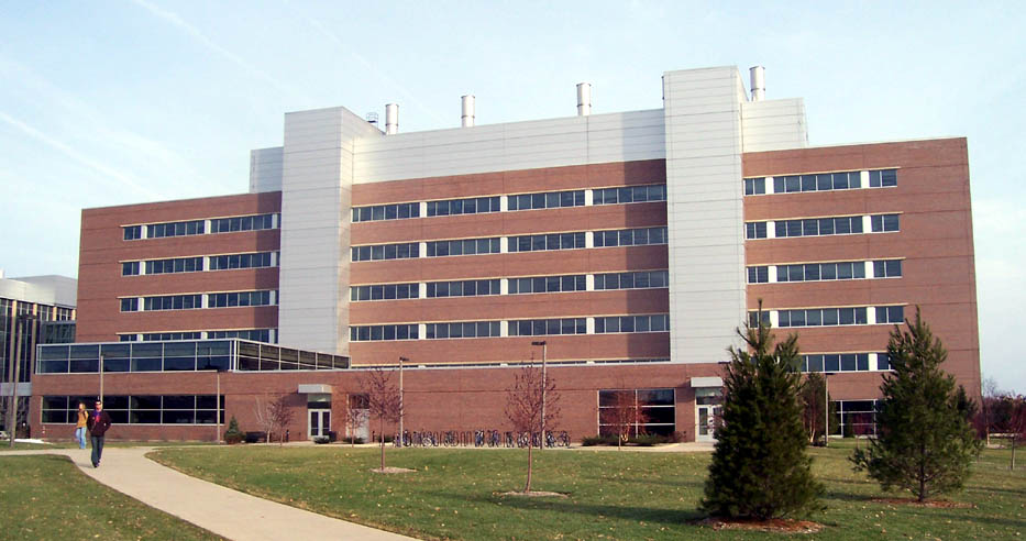 Michigan State's Biomedical Sciences building. Photo courtesy of Wikimedia Commons.