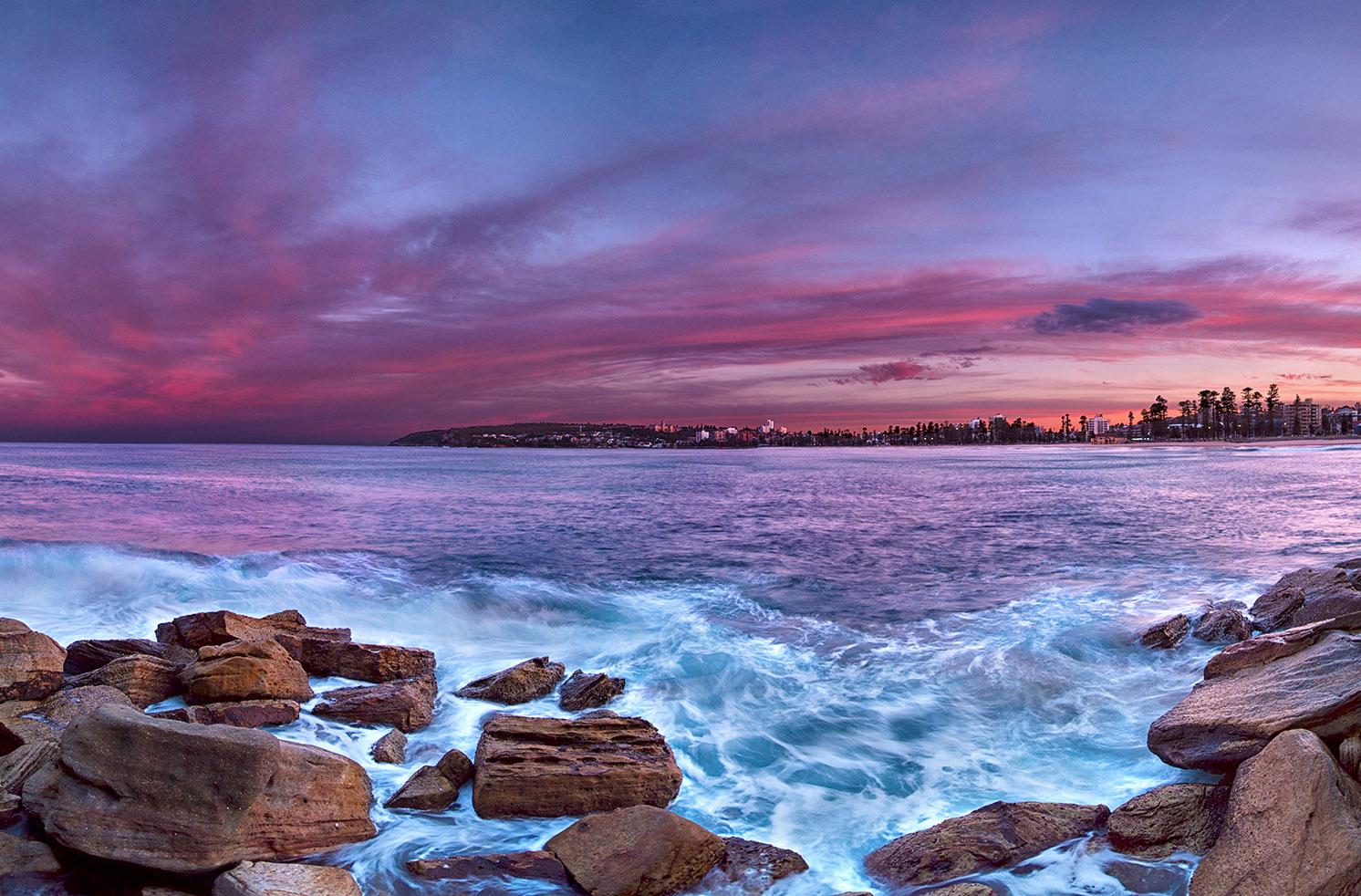 guia de viaje australia - manly beach