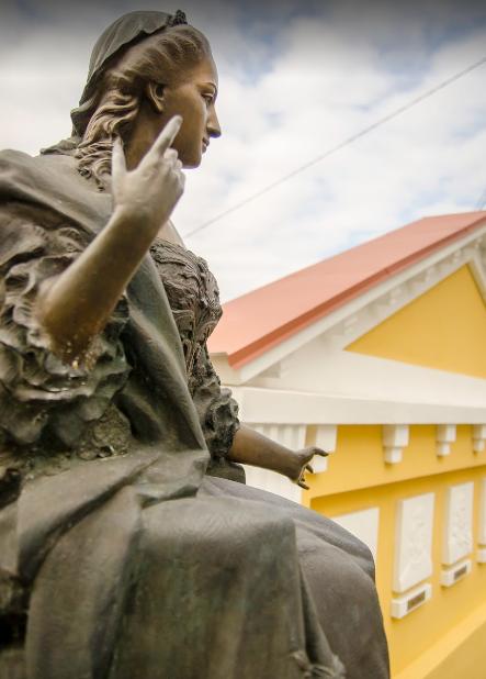Первый на Украине частный сквер Марии Терезии