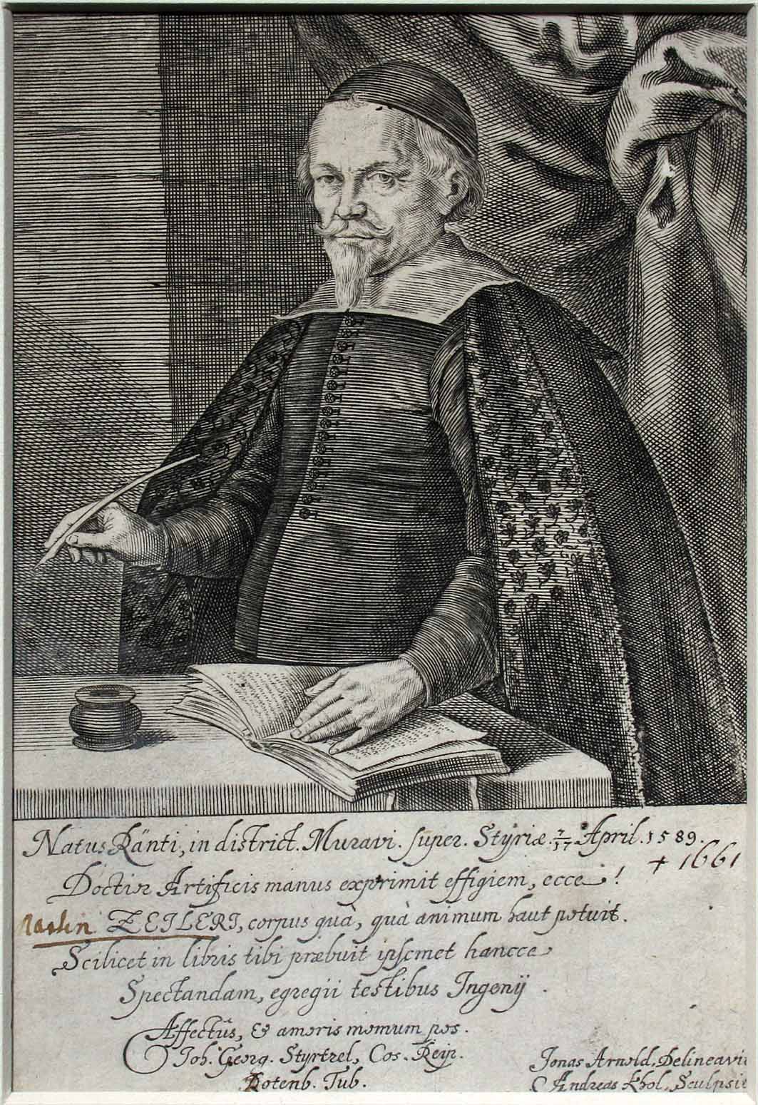 Contemporary portrait by A. Kohl.