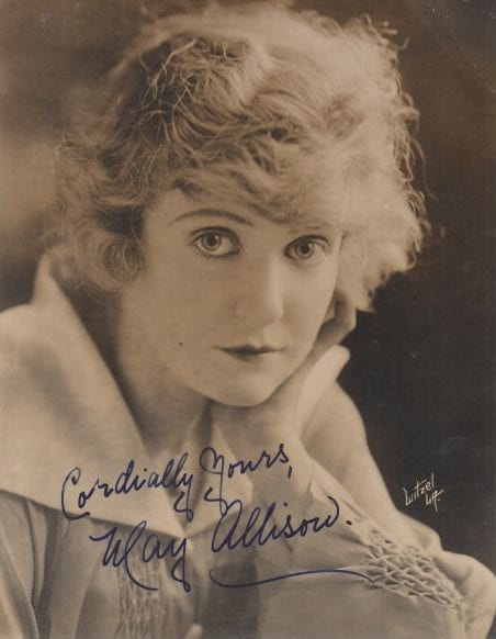 May Allison American actress
