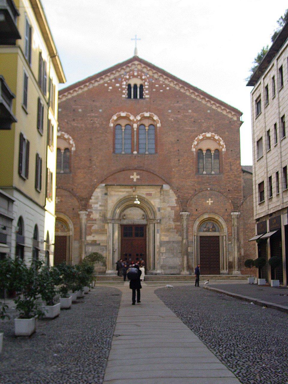 Базилика Сан Симпличано Милан